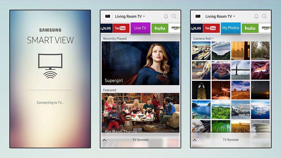 Smart View настройка синхронизации, что делать если не видит телевизор